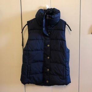 Blue Old Navy Puffer Vest